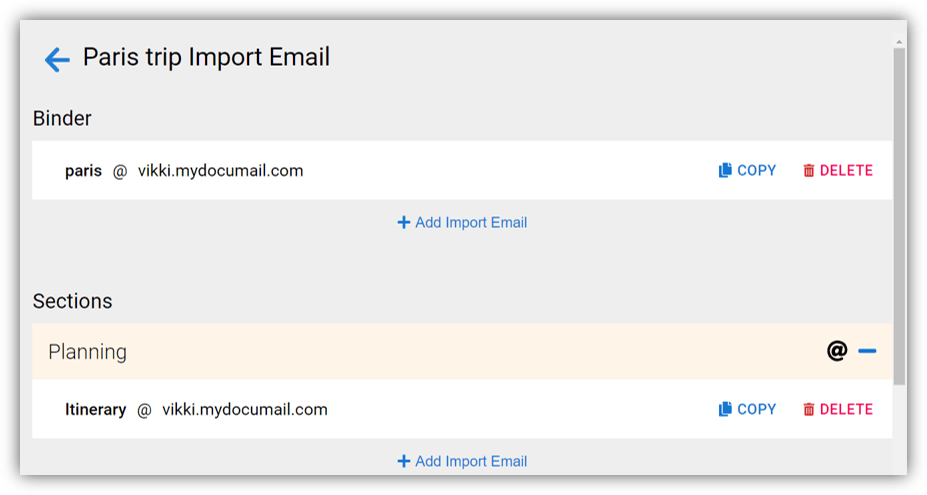 Personalize your email address