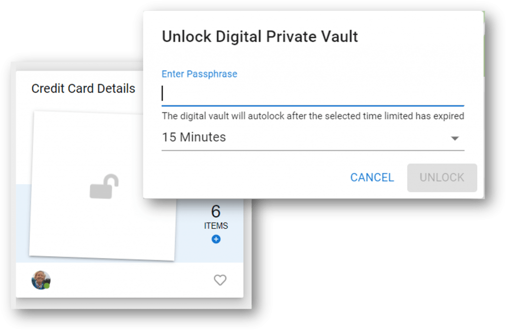Digital Private Vaults